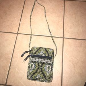 Green and Blue Vera Bradley purse